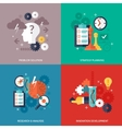 Workflow Icons Set vector image vector image