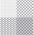 Net wire and cage background vector image