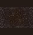 grunge dark texture vector image