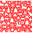 bauble pattern vector image vector image