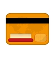 credit card money business vector image
