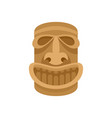hawaii wood idol icon flat style vector image