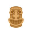 hawaii wood idol icon flat style vector image vector image