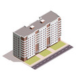 house 3d isometric vector image