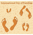 international day of families vector image