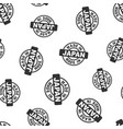 made in japan stamp seamless pattern background vector image vector image