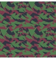 Seamless military camouflage texture vector image vector image