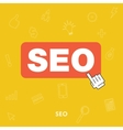 search engine optimization concept seo vector image