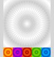 starburst sunburst background converging radial vector image vector image