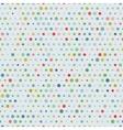 Vintage randome sizes dots seamless pattern vector image