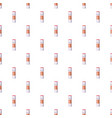 white plastic bottle of cleaning detergent pattern vector image vector image