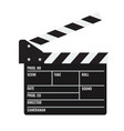 opened cinema or film clapper