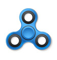 plastic fidget spinner stress relieving toy