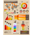 Retro Color Infographics People Elements