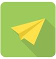 Send icon vector image vector image