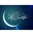 ramadan kareem festival vector image