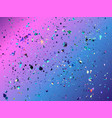 abstract pattern with dots and blot on color vector image vector image