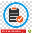 Apply Form Eps Rounded Icon vector image vector image