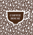 coffee breack brown vector image vector image