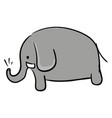 elephant picture or color vector image