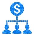 Money Recipients Grainy Texture Icon vector image vector image