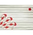 Xmas candy cane EPS 10 vector image