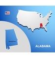 Alabama vector image vector image