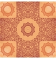 Elegant Asian Print on Henna Seamless Texture vector image vector image