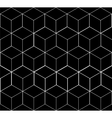 Geometric seamless simple monochrome minimalistic vector image