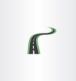 highway logo icon autoroad symbol element vector image