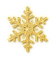 isolated over white background snowflake vector image vector image