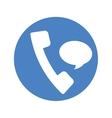 phone with bubble service repair icon vector image