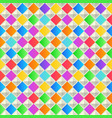 abstract geometric background colorful seamless vector image vector image
