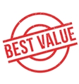 Best Value rubber stamp vector image