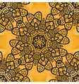 Elegant Seamless Ornamental Mandala Print on vector image