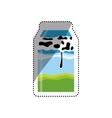 Fresh milk dairy vector image vector image