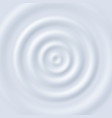 milk ripple circle waves yogurt cream close up vector image