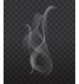 New smoke sign vector image vector image
