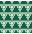 Triangle and circle geometric seamless pattern vector image vector image