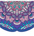 vintage mandala design purple tone image vector image vector image