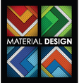 material design group vector image