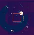 motion graphics design element geometric vector image