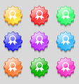 Award Prize for winner icon sign symbol on nine vector image vector image