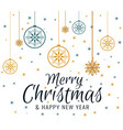 background merry christmas vector image vector image