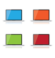 Computer screens vector image vector image