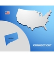 Connecticut vector image vector image