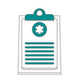 medical history healthcare icon image vector image vector image