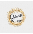 Summer - a label icon sticker badge stamp can vector image vector image