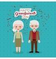 Couple of grandparents design vector image