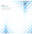 abstract blue geometric technology vector image vector image